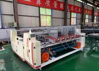 Semi Automatic Carton Box Forming  Pasting Machine  / Pressure Gluer Machine For Carton Box