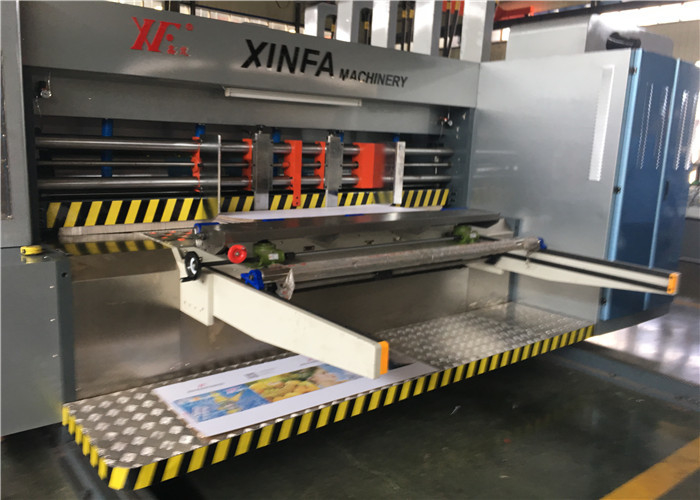 Flexible Movement Flexo Printer Slotter Machine With Full Computer Control